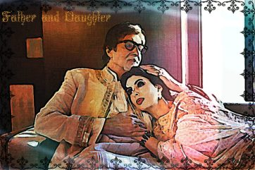 amitabh bachchan and daughter 1