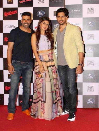 Brothers trailer launch, Akshay Kumar, Sidharth Malhotra, Jacqueline Fernandez, Jackie Shroff and Karn Johar (41)