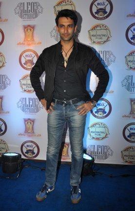 Nandish Sandhu at Punjab Cricket Launc