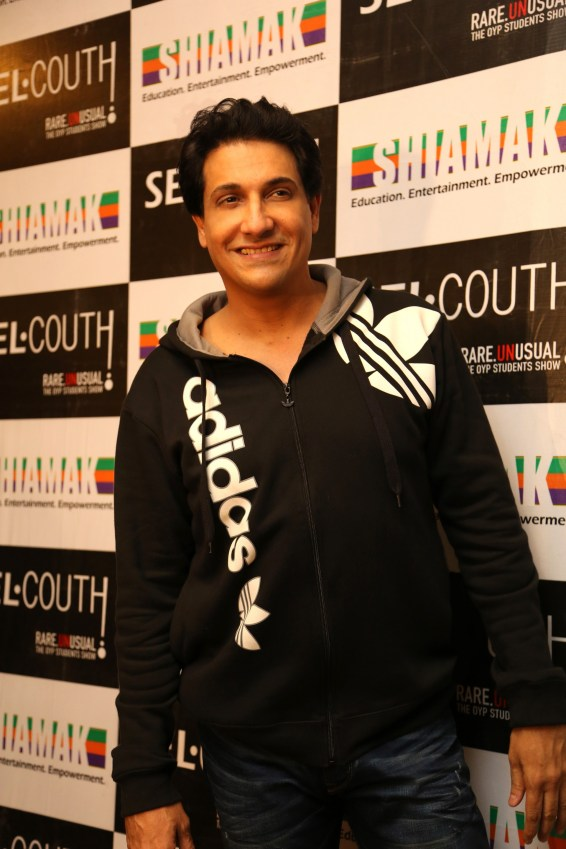 Creating the magic 25th time with Shiamak in Selcouth!