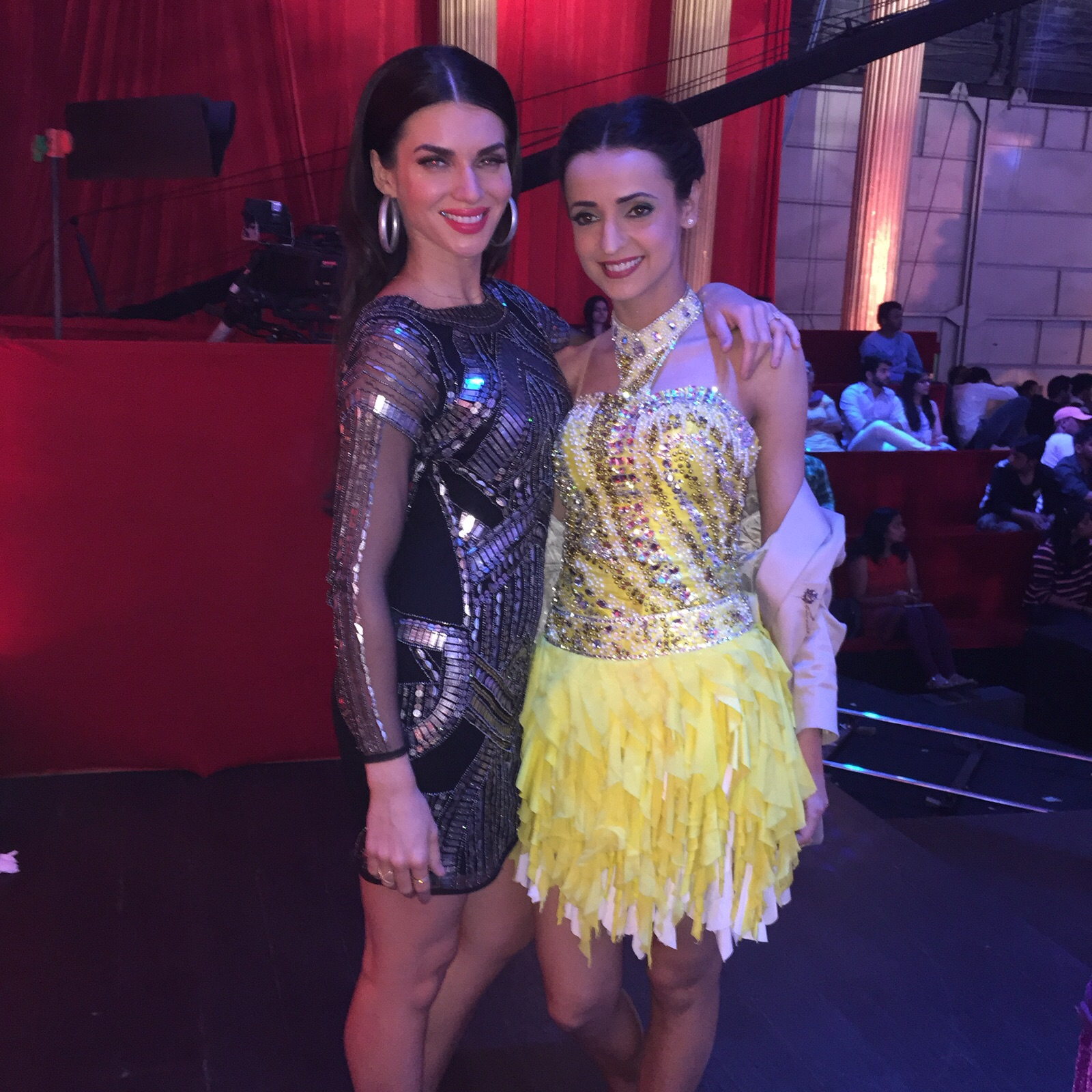 Scarlett and Sanaya