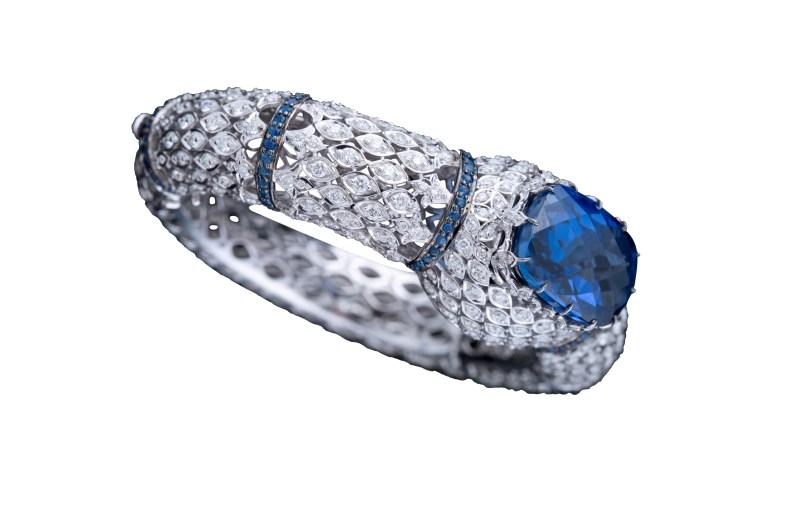 Blue Sapphire Bracelet