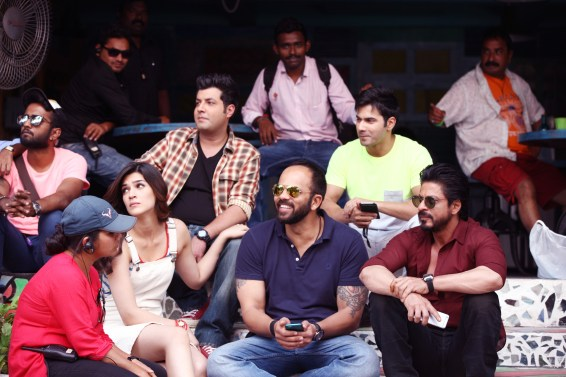 Dilwale On location 006