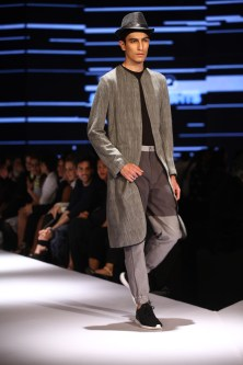 Model in Ujjawal Dubey on Day 2 of Van Heusen + GQ Fashion Nights (4)