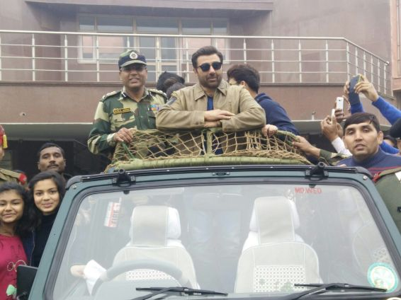 Sunny Deol at BSF Camp 2