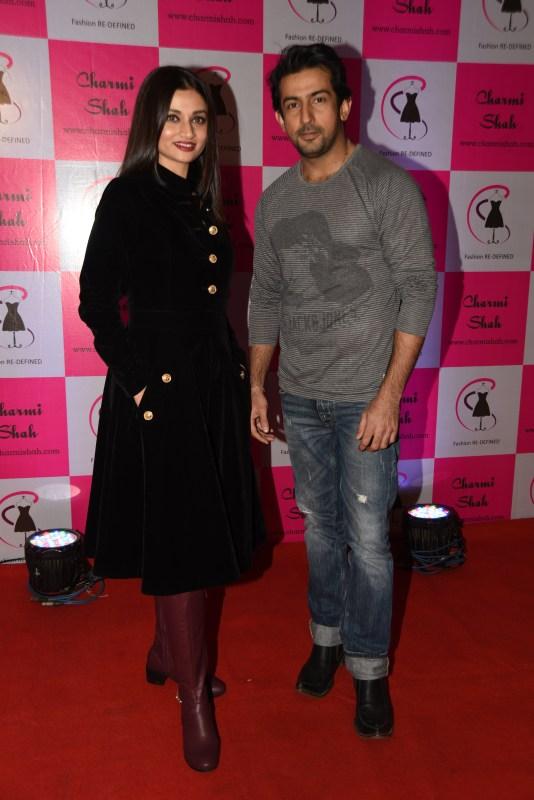 Ankita Shorey and Aslam Khan