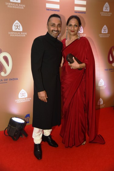 Rahul Bose with his sister Anuradha Ansari