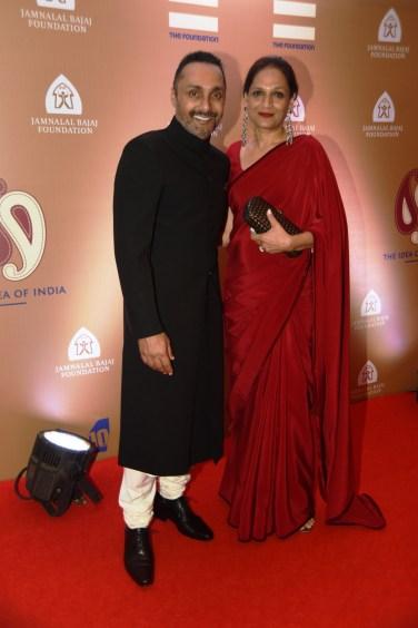 Rahul Bose with his sister Anuradha Ansari