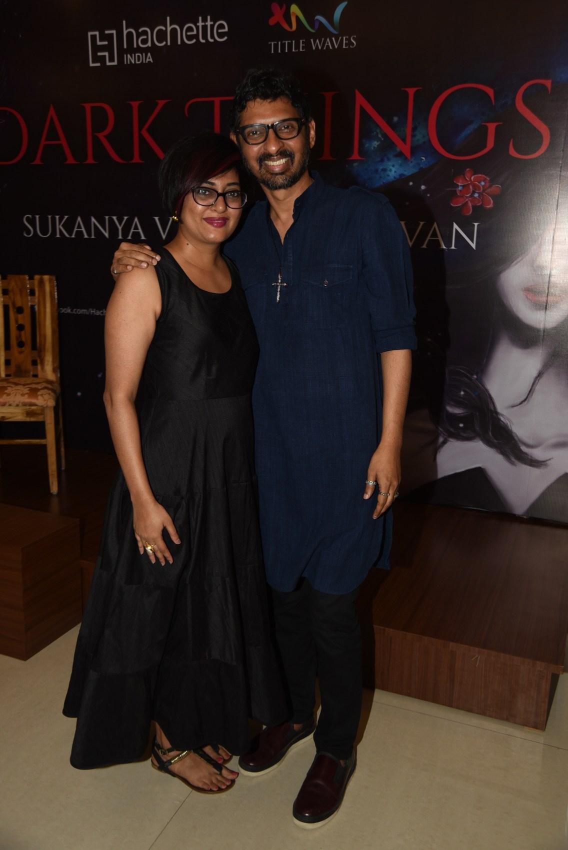 Sukanya with Niranjan Iyengar