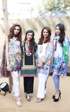 Farwa, Zara, Saira & Rubab