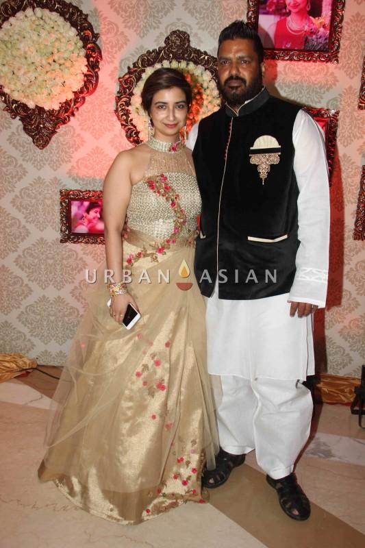 Rashmi and Pawan Sharma