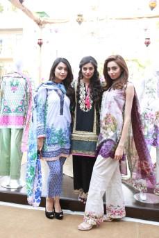 Rubab Ali, Zara Peerzada, Farwa Kazmi