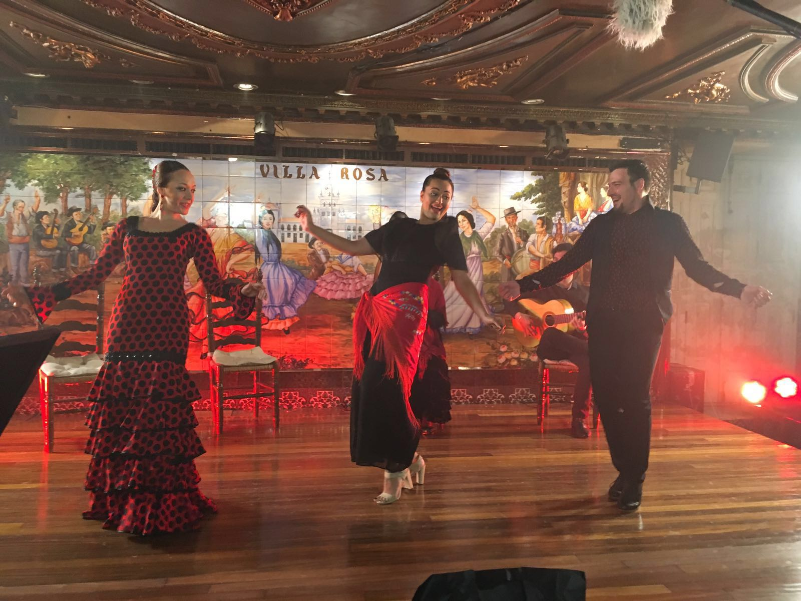 Sonakshi Sinha with traditional Flamenco dancers in Madrid before the IIFA 2016 announcement press conference