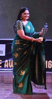 Actress Indrani Krishnan