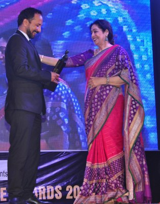 Deepak Dobriyal With Kirron Kher