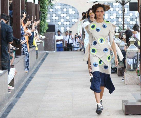 Models walk for Dhruv Kapoor at LFW SR 2016