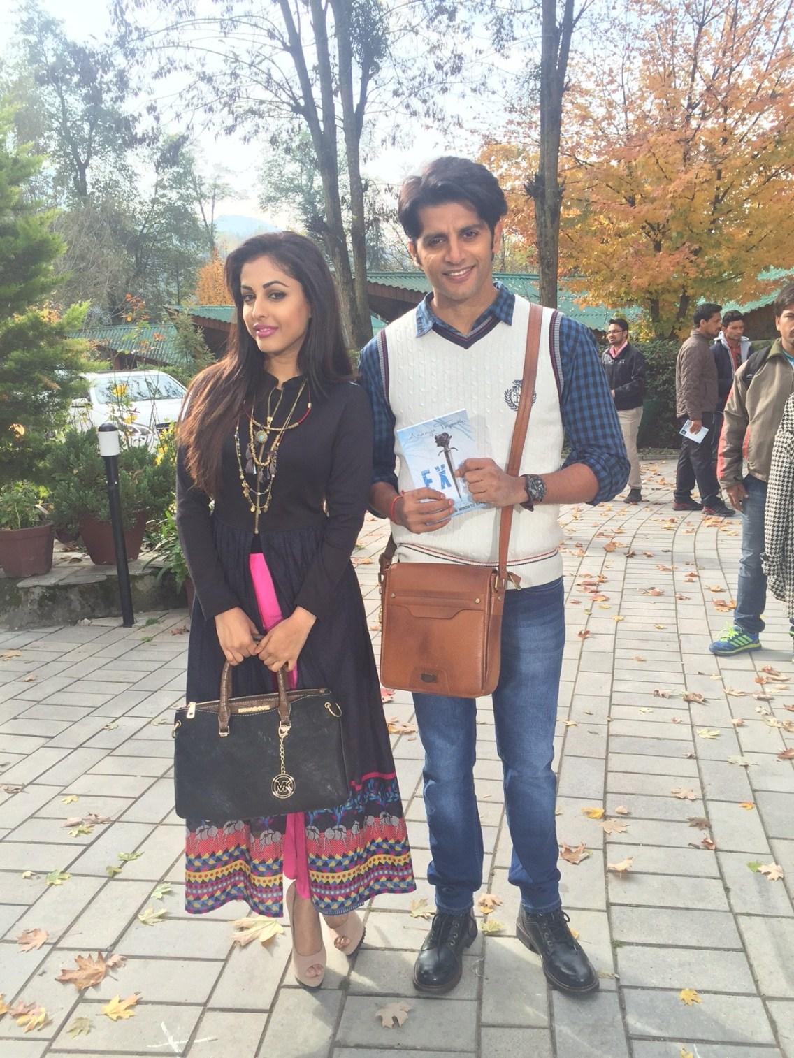 Priya Banerjee and Karanvir Bohra