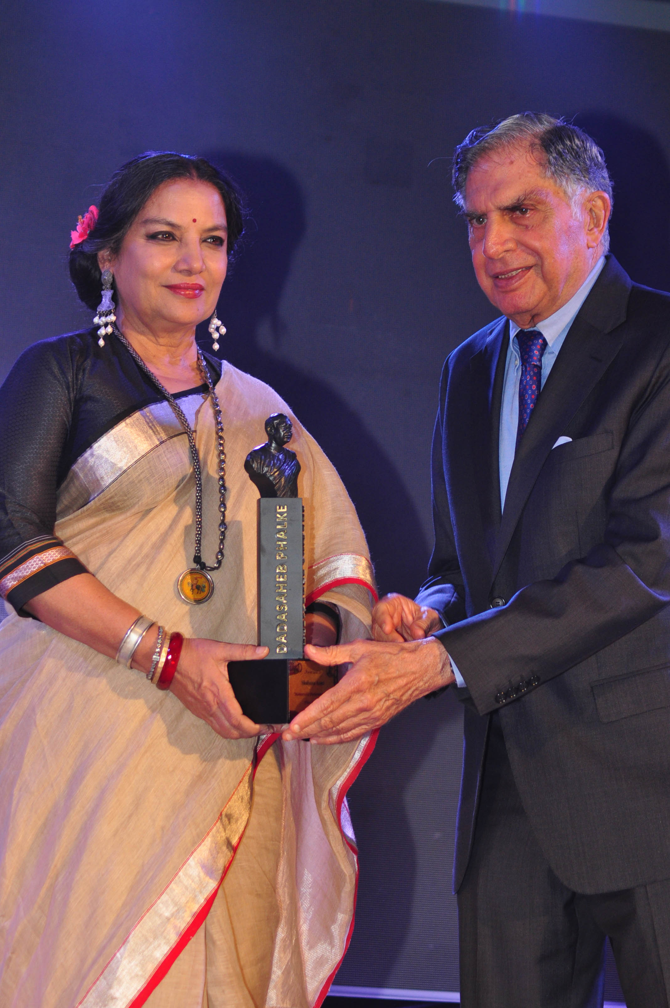 Shabana Azmi With Ratan Tata