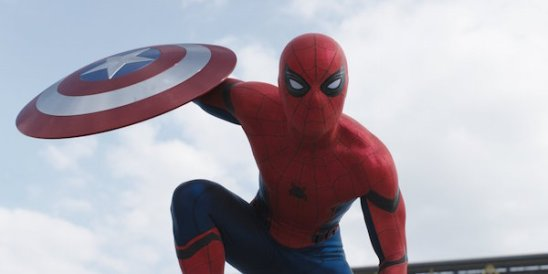 Spiderman in Captain America Civil War