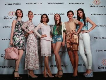 Kangana Ranaut at the launch of VERO MODA store at DLF Mall of India
