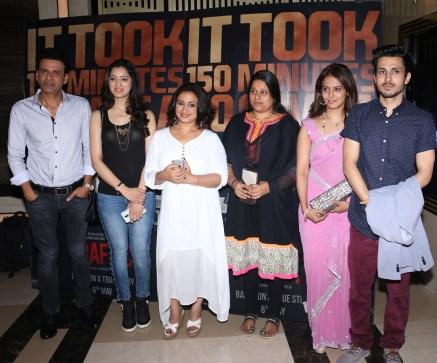 (l-r) Manoj Bajpayee, Richa Panai, Divya Dutta, Mrs Megha Pillai, Amol Parashar