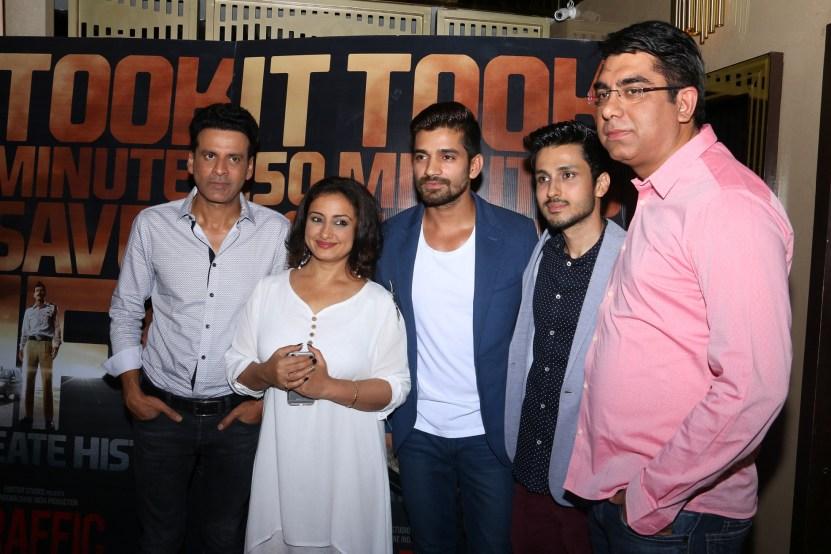 Manoj Bajpayee, Divya Dutta, Vishal Singh, Amol Parashar, Deepak Dhar, MD & CEO, Endemol Shine India