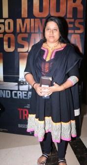 Mrs. Megha Pillai, wife of director late Rajesh Pillai