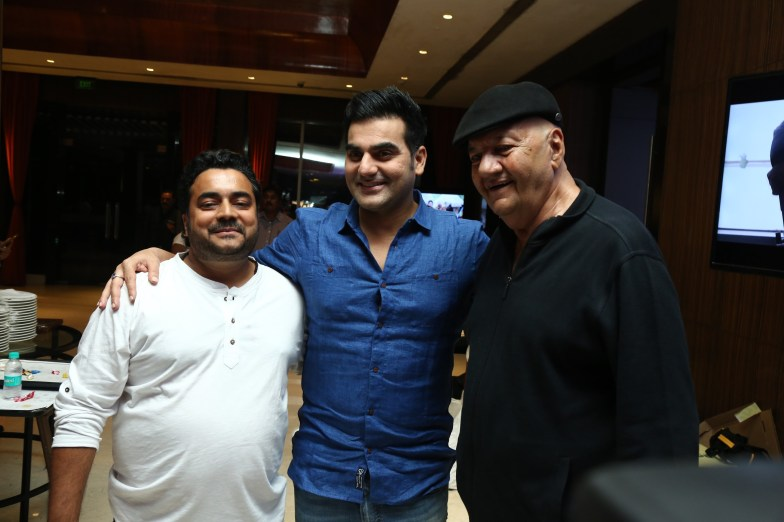 Director Keshhav, Arbaaz Khan and Prem Chopra (2)