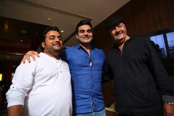 Director Keshhav, Arbaaz Khan and Prem Chopra