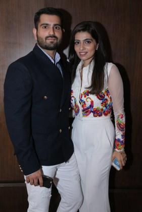Actor Rahil Tandon and Designer Nikhita Tandon