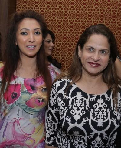 Sangeeta Mehta and Ramola Bachchan