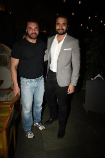 Sohail Khan and Jackky Bhagnani at the Fever party