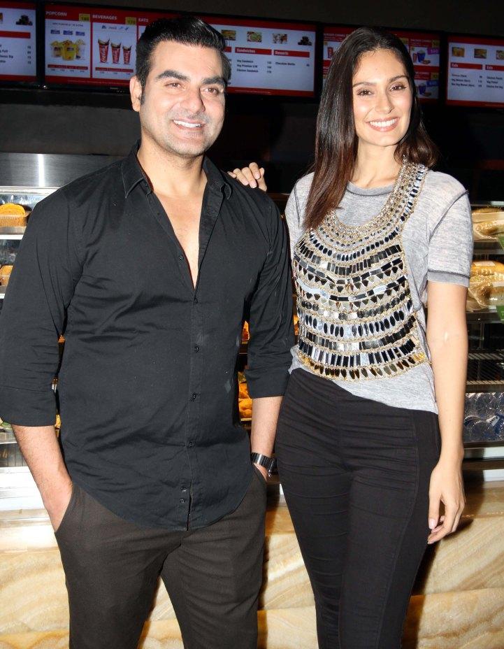 arbaaz khan & bruna abdullah