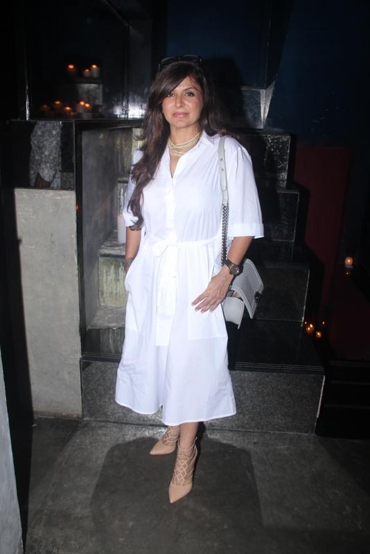 Babita Malkani at the Fashion Wednesday at MasalaBar with Sonaakshi Raaj