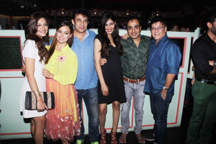 Nazia Hussain, Sana Khan, Director Deepak Tijori Pooja Chopra, Producers - Narsingh Rajput and Surendra Bhatia