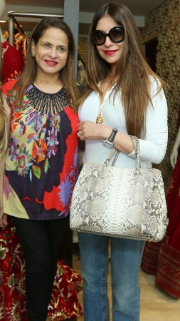 Ramola Bachchan and Tanisha Mohan