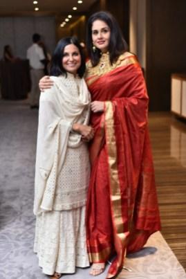 Rashmi Virmani with Shefali Talwar