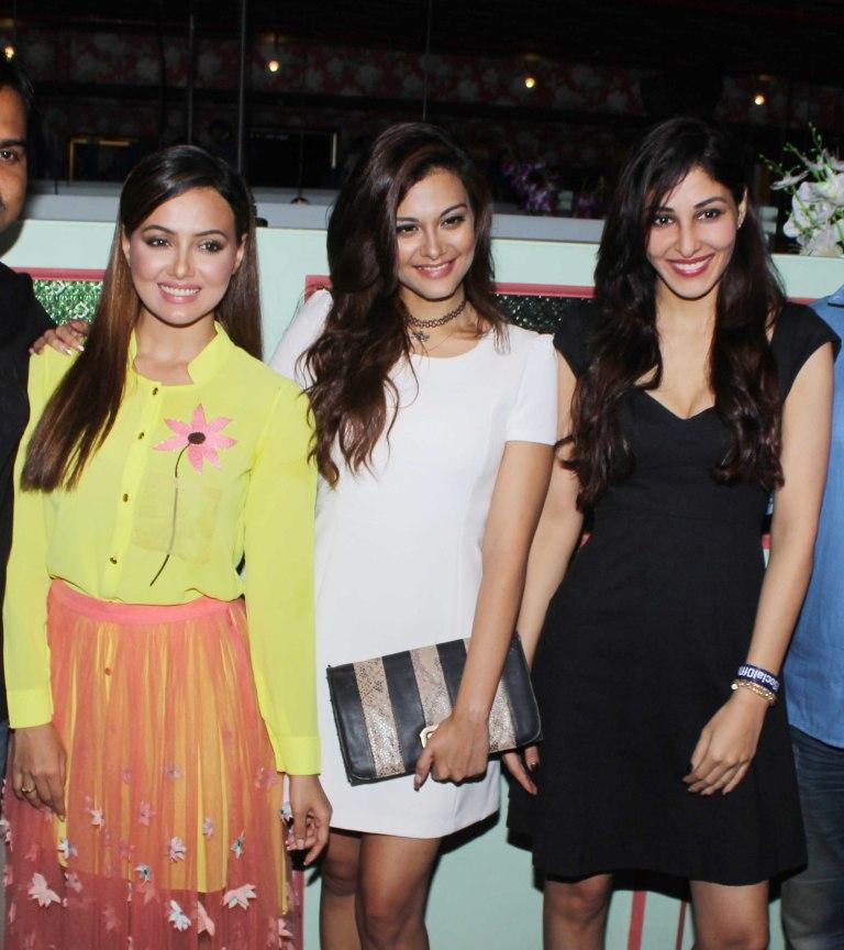 Sana Khan,Nazia Hussain and Pooja Chopra