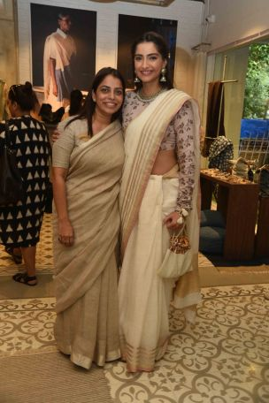 Sonam Kapoor with Anavila Misra