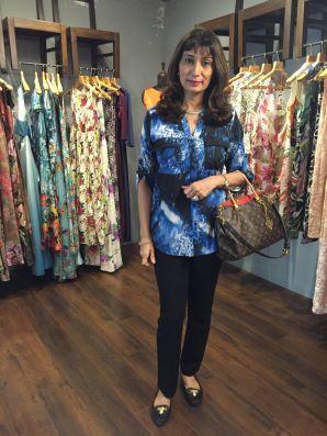 08 Dr Rishma pai @ Amy Billimoria House of Designer & Zevadhi Jewels Festive Collection launch soiree