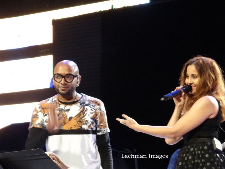 Benny Dayal and Apeksha
