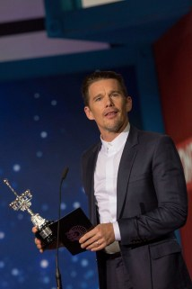 San Sebastian, Spain - SEPTEMBER 17, 2016 Ethan Hawke attends MGM and Columbia Pictures 'The Magnificent SevenÕ awards ceremony at the 64th San Sebastian Film Festival.