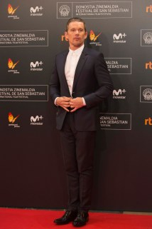 San Sebastian, Spain - SEPTEMBER 17, 2016 Ethan Hawke attends MGM and Columbia Pictures 'The Magnificent SevenÕ red carpet premiere at the 64th San Sebastian Film Festival.