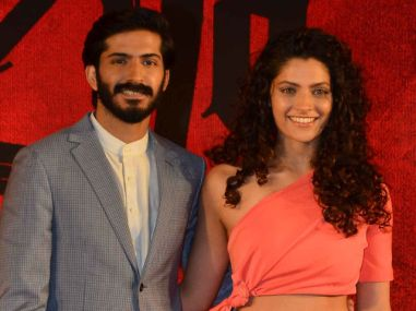 harshvardhan-kapoor-and-saiyami-kher-at-mirzya-music-launch-l-to-r