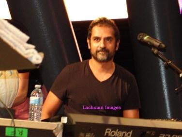 Karsh Kale on keyboards 2