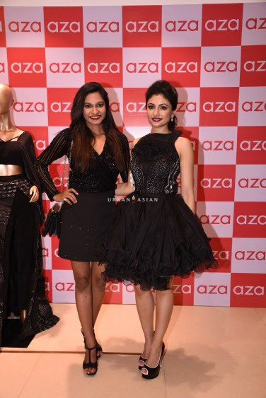eshaa-amiin-devangi-nishar-parekh-creative-director-of-aza-eshaa-amiins-new-party-wear-launch-at-aza