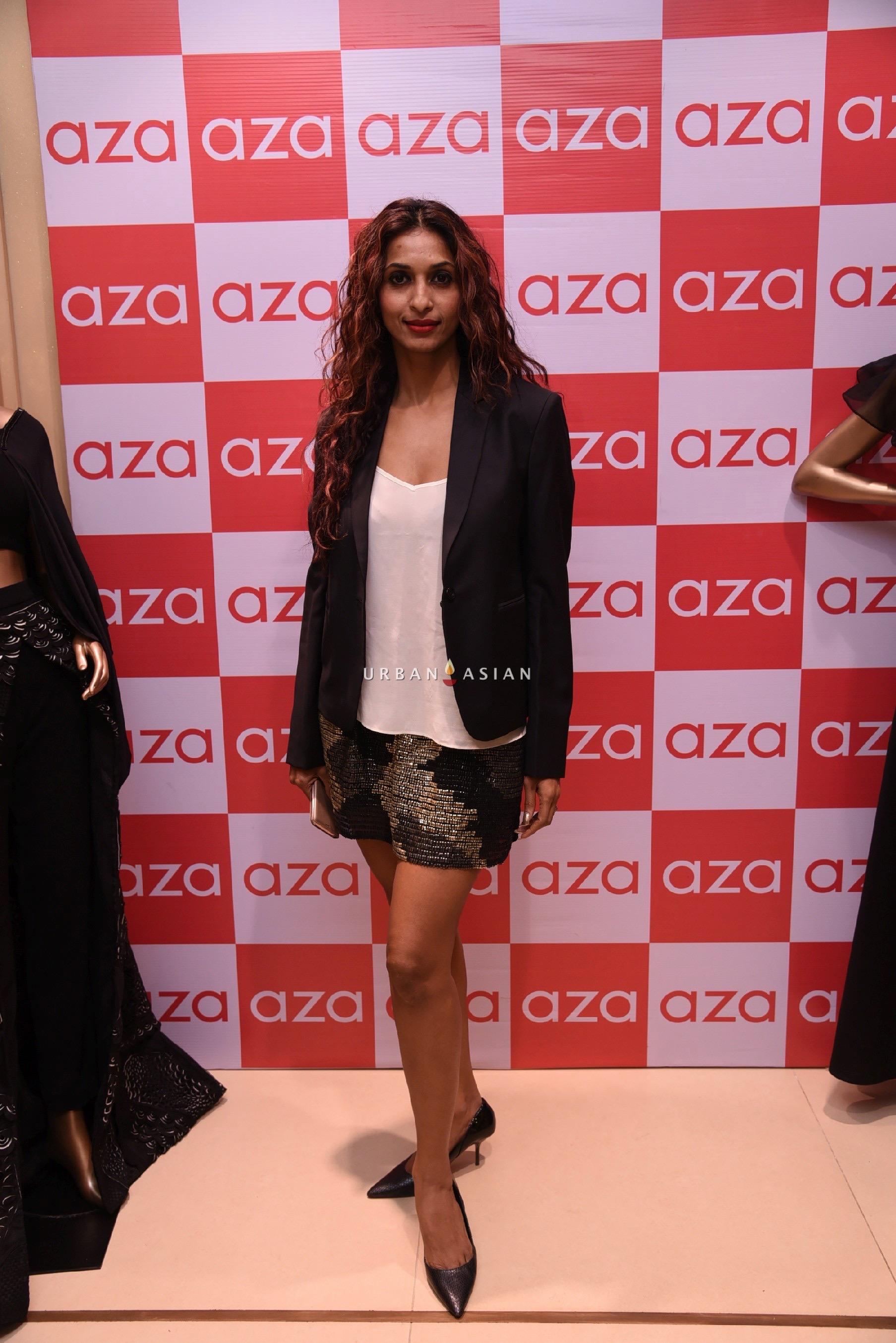 sandhya-shetty-eshaa-amiins-new-year-party-wear-launch-at-aza
