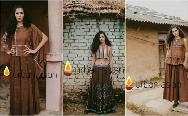 latest collection look book from designer purvi doshi