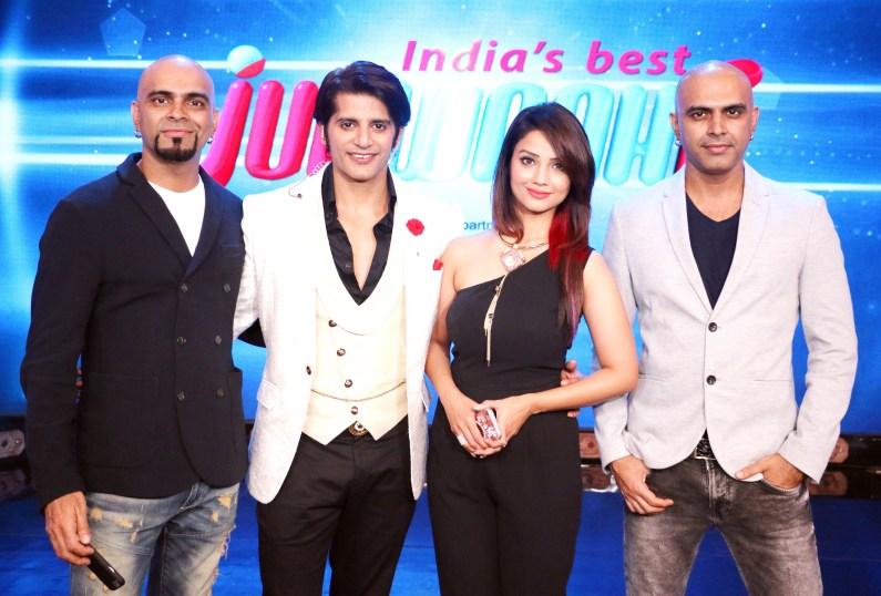 Karanvir Bohra's Birthday Celebration on the sets of India's Best Judwaah (6)