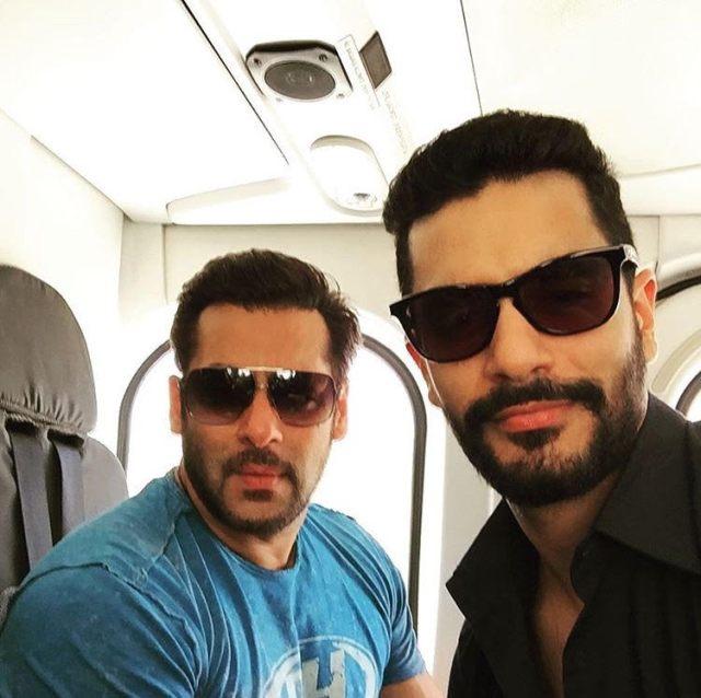 Salman Khan & Angad Bedi